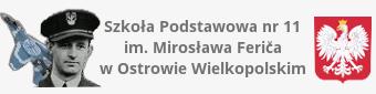 Archiwalna strona Szkoły Podstawowej nr 11 im. Mirosława Ferića w Ostrowie Wielkopolskim